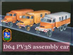 Praga V3S montážní vozy