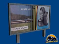 Lamelový billboard