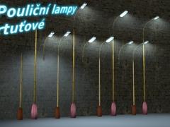 Pouliční lampy rtuťové 1