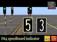 Indikátorové tabulky s číslicí 5 a 3