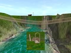 Visutý most s bránou