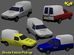 Škoda Felicia PU pack