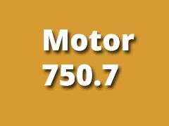 Motor pro řadu 750.7