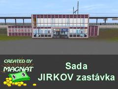 Sada objektů - Jirkov zastávka