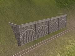 Operná kamenná zeď II