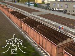 Dekoratívny spline vagón Eas
