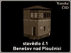 Stavědlo Benešov nad Ploučnicí I