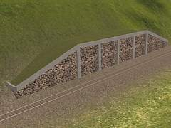 Operná kamenná zeď