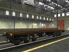 Sada tří vagonů ČSD Px