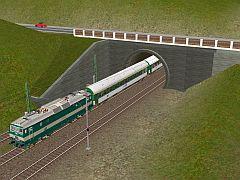 Tunel 2k (betonové tybinky)