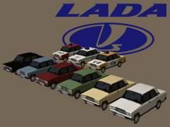 Lada 2107 emergency