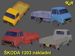 Škoda 1203 nákladní