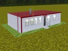 Budova modelů v Lužné