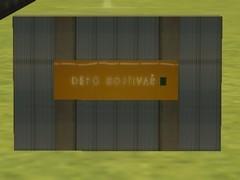 Zeď stanice Depo Hostivař