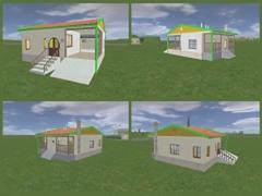 Domek s terasou