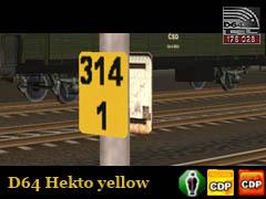 Staničníky žluté