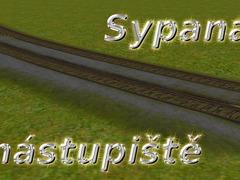 Sypaná nástupiště 1