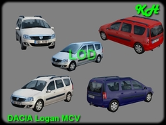 Dacia Logan MCV High Pack