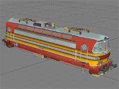 ČD 230 023-4 Cargo nálepka