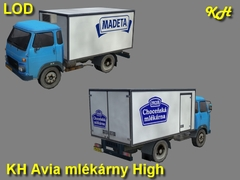 Avia mlekarny High Pack