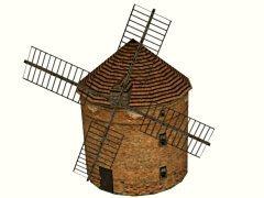 Větrný mlýn Chválkovice
