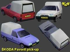 Škoda Favorit pick-up pack