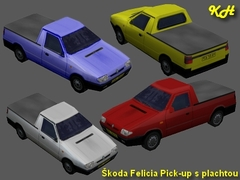 Škoda Felicia PUP pack