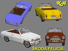 Škoda Felicia pack