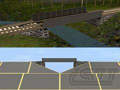 Most nízký ocelový