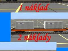 Vagon velký plošinový