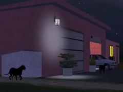 Domovní lampa
