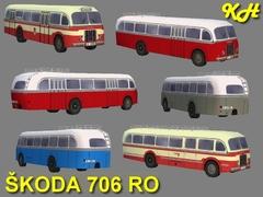 Škoda 706 RO pack