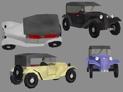 Tatra 11 s řidičem