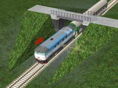 Lávka na trati 310