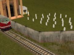Zeď hřbitova