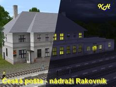 Česká pošta - nádraží Rakovník