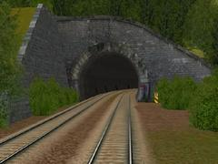 Tunel ve svahu