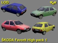 Škoda Favorit High Pack 1