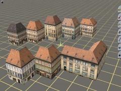Rohové městské domy