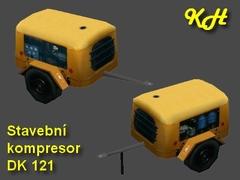 Stavební kompresor DK121 pack