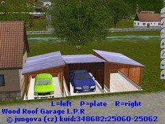 Dřevěné garáže