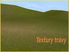 Textury trávy
