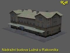 Nádrážní budova Lužná u Rakovníka