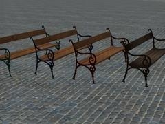 Nádražní lavičky
