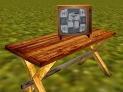 Televizor Lilie - monoskop
