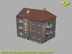 Ottův dům v Rakovníku
