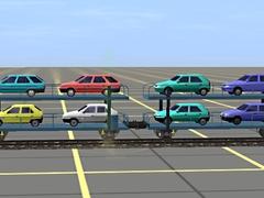 Vagon na automobily