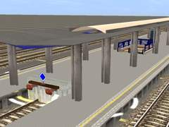 Podchody a nástupiště