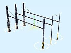 Sada pylonů pro elektrifikaci II