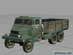 PRAGA V3S Military